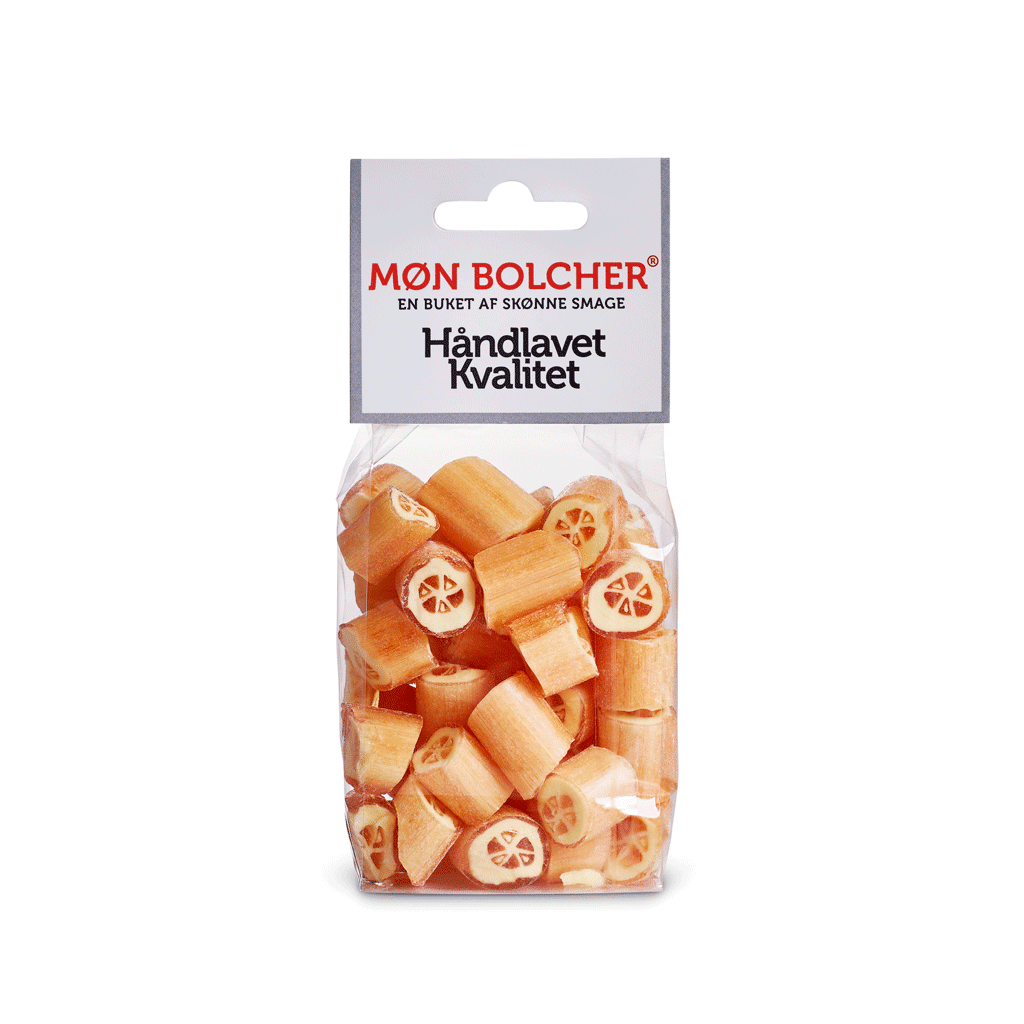 appelsin-rox-klodsbundpose-møn-bolcher