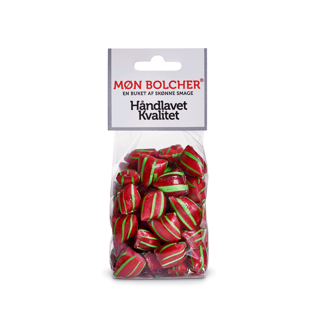 jordbær-bolcher-klodsbundpose-møn-bolcher